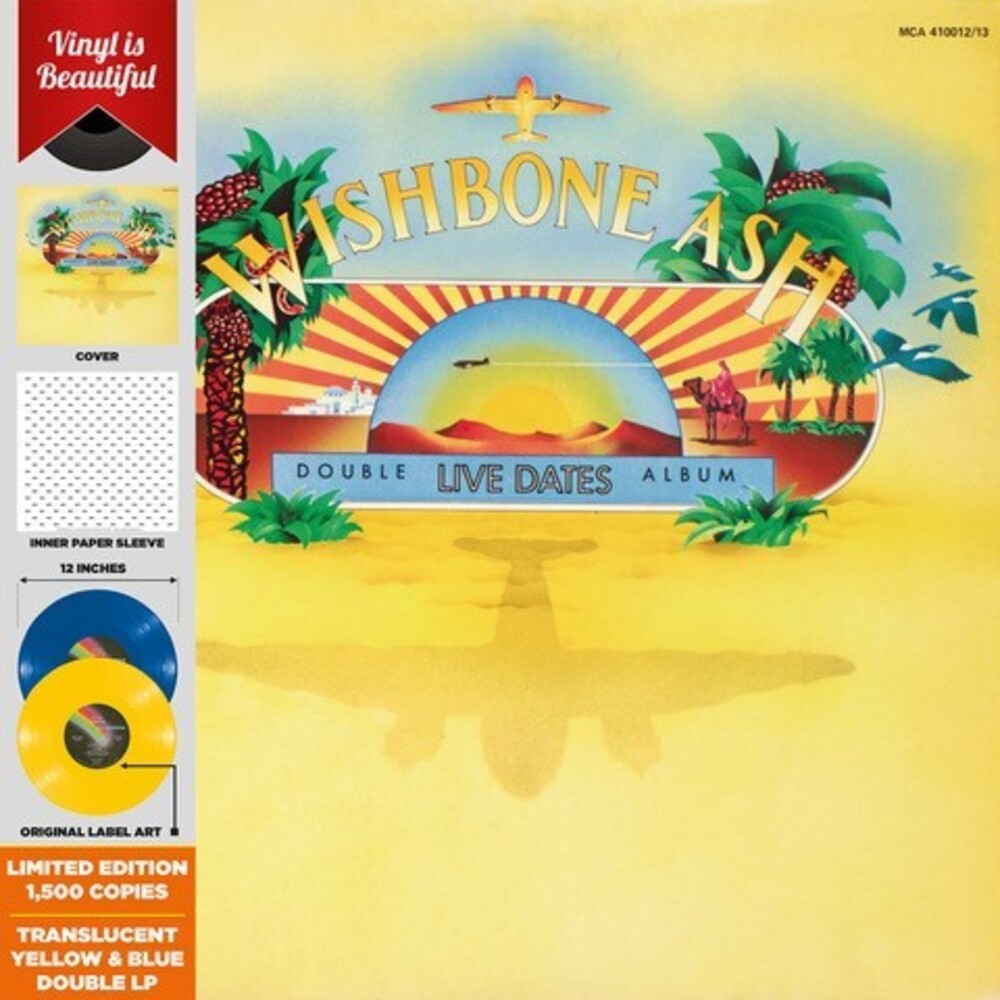 Wishbone Ash - Live Dates (Blue) (Gate) (Ltd) (Ylw)