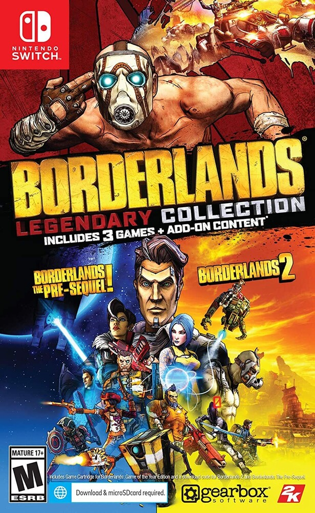 Swi Borderlands Legendary Collection - Borderlands Legendary Collection