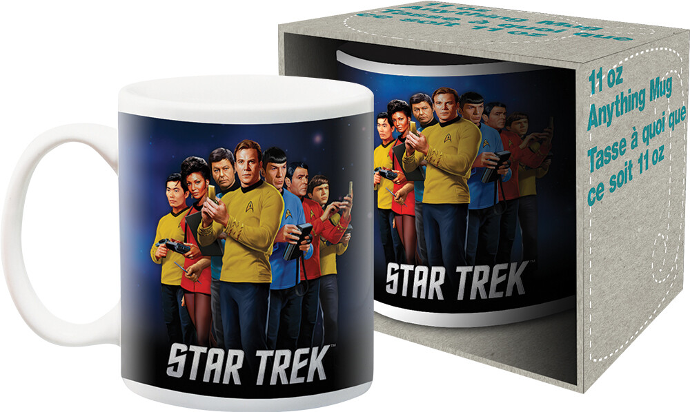 Star Trek Original TV Series Group 11Oz Mug Boxed - Star Trek Original TV Series Group 11oz Mug Boxed