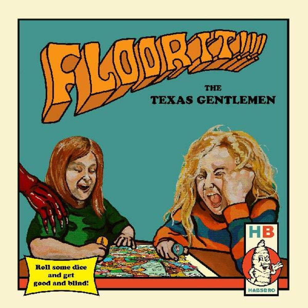 The Texas Gentlemen - Floor It!!! [2LP+Board Game]