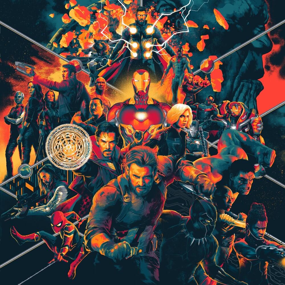 Alan Silvestri Colv Ogv - Avengers: Infinity War / O.S.T. [Colored Vinyl] [180 Gram]