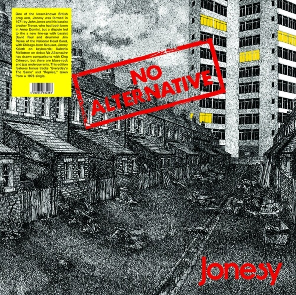 Jonesy - No Alternative