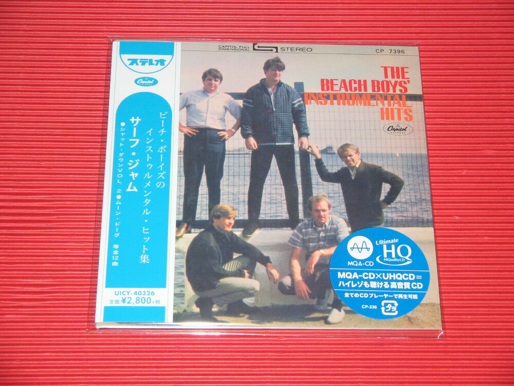 Beach Boys - Instrumental Hits (Jmlp) [Limited Edition] (24bt) (Hqcd) (Jpn)