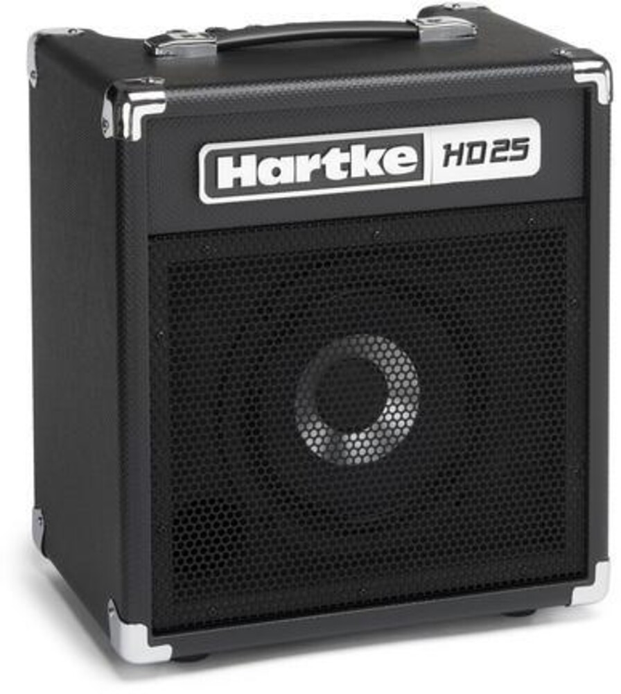 Hartke Hd25 Bass Guitar Combo Amp 25W Black - Hartke HD25 HMHD25 Bass Guitar Combo Amp 25 Watt Inlcudes HeadphoneOutput and Aux Input (Black)