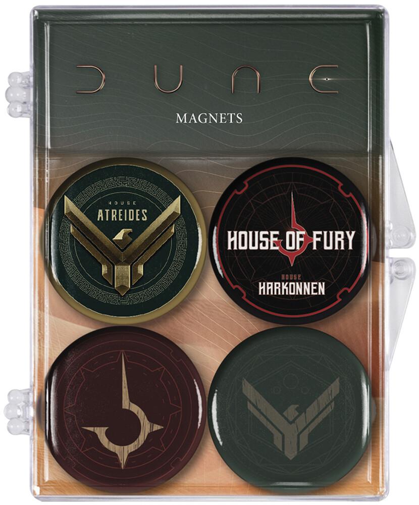 Dune: Atreides and Harkonnen Magnet 4-Pack - Dune: Atreides and Harkonnen Magnet 4-Pack