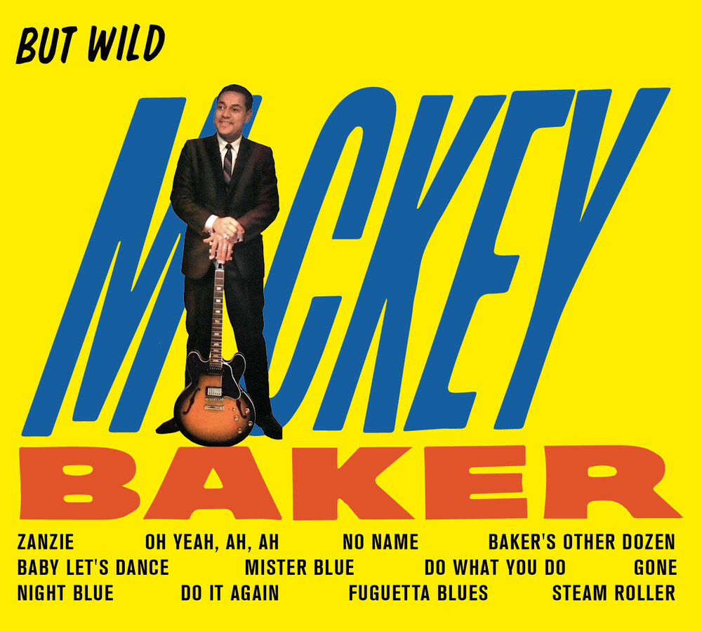 Mickey Baker - But Wild / Bossa Nova [Limited Digipak With Bonus Tracks]