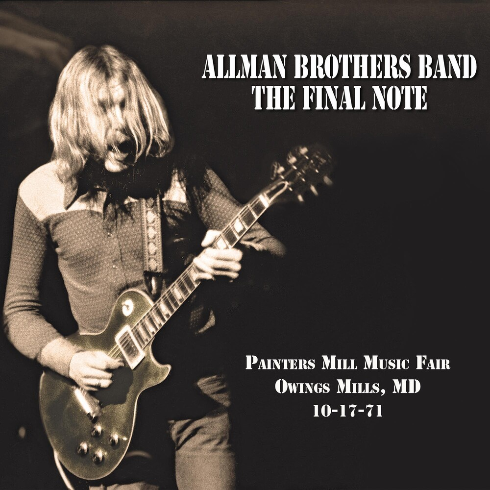 The Allman Brothers Band - Final Note