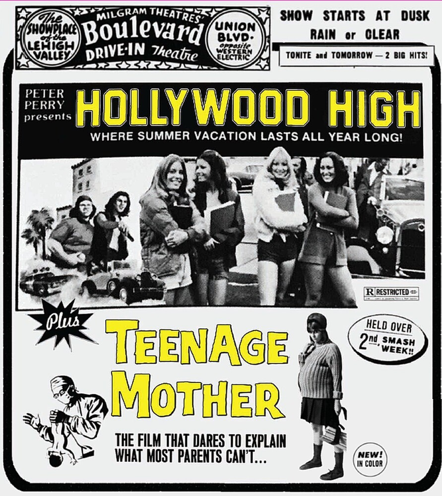 Hollywood High + Teenage Mother - Hollywood High / Teenage Mother (Drive-in Double Feature #9)