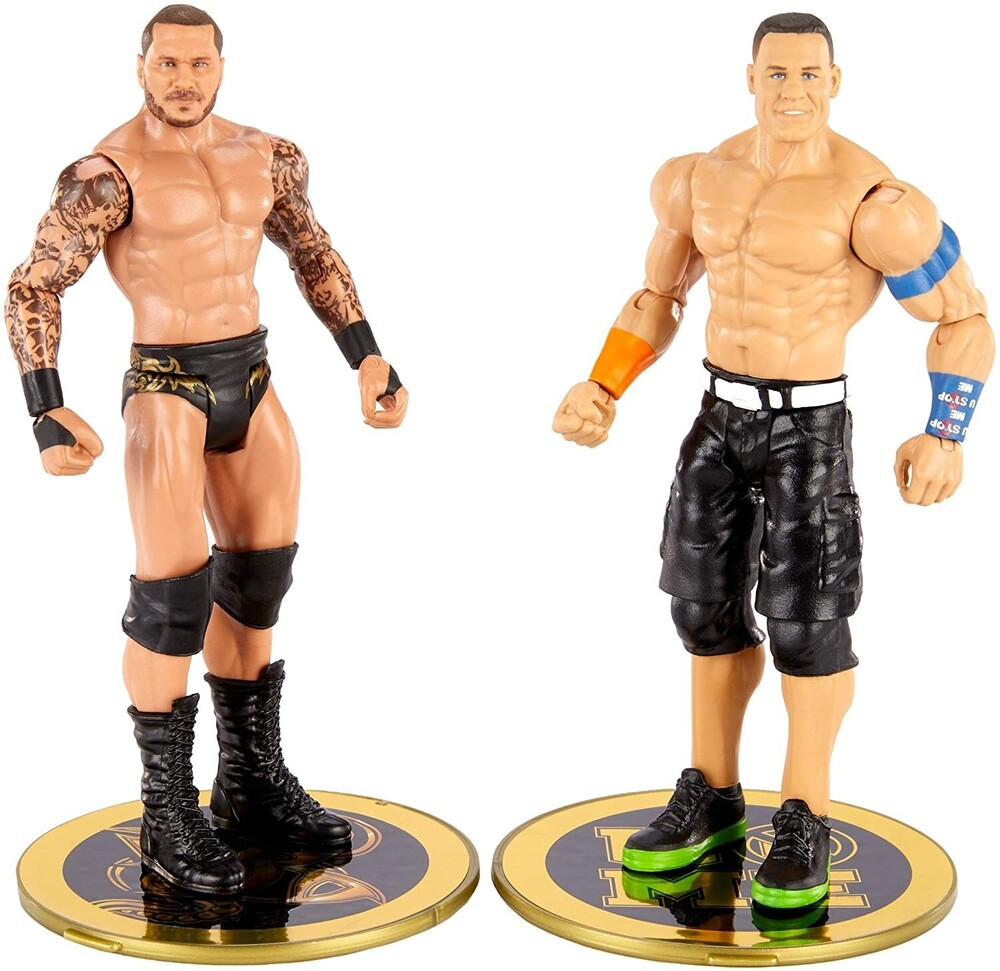 WWE - Mattel Collectible - WWE Basic Battle Pack: John Cena & Ranfy Orton