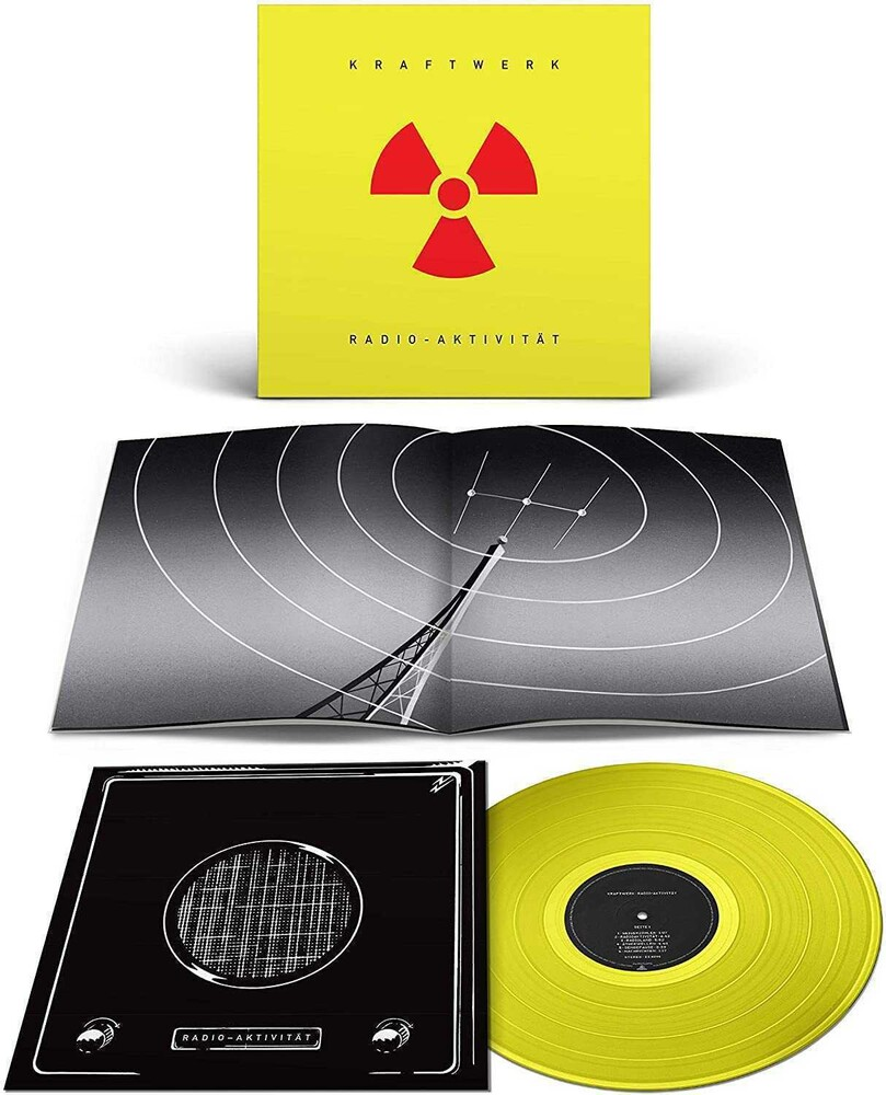 Kraftwerk - Radio-Aktivitat (German Version) (Translucent Yellow Colored Vinyl)