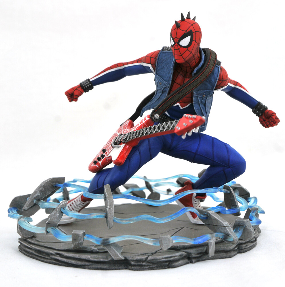 Diamond Select - Diamond Select - Marvel Gallery Ps4 Spider-Punk PVC Statue