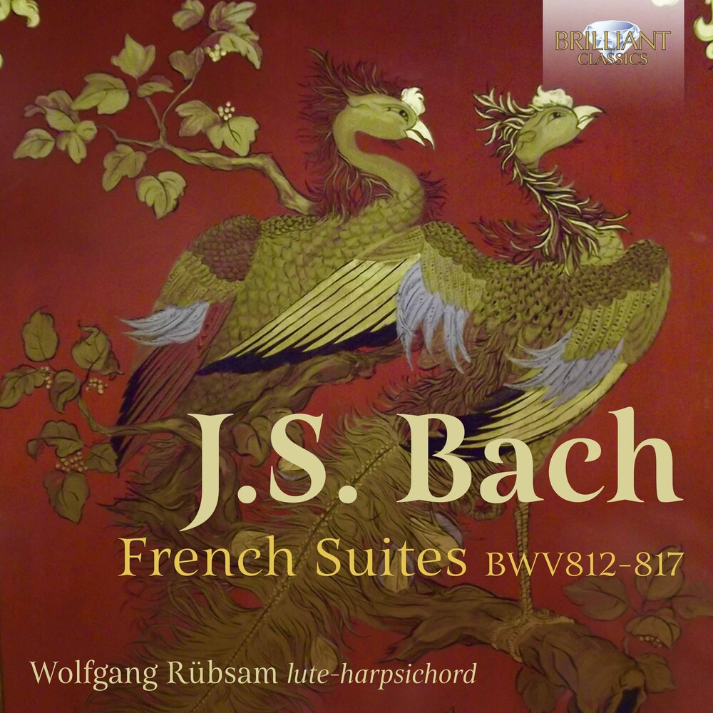 J Bach S / Rubsam - French Suites 812-817 (2pk)