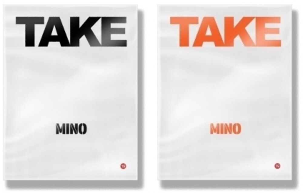 Mino - Take (Random Cover) (incl. 116pg Photobook, 20pg Lyric Book, Photocard, Sticker + Plastic Bag)