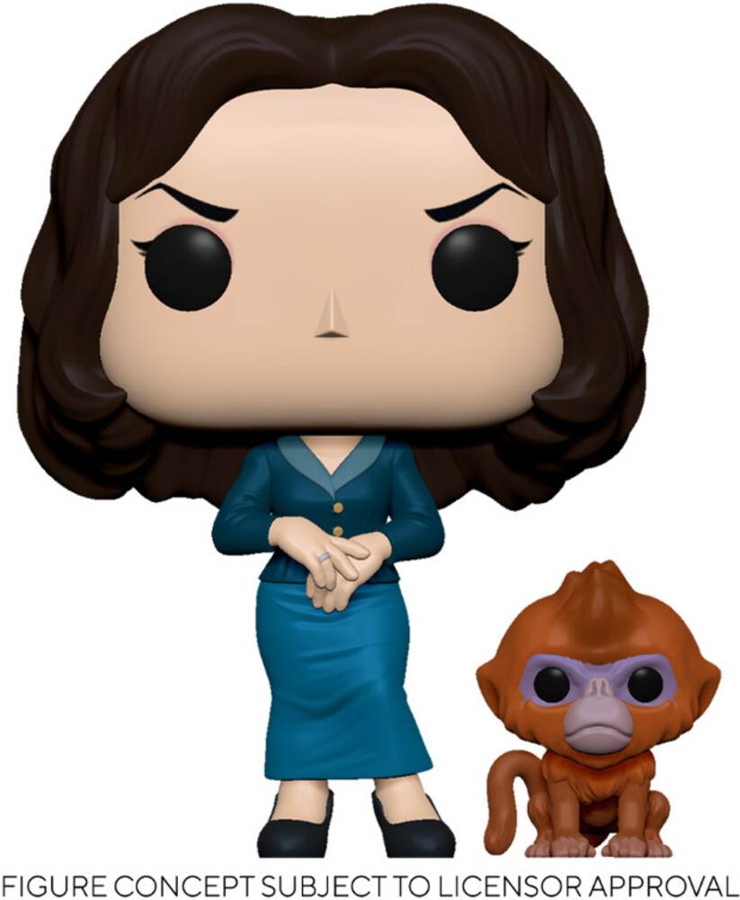 - FUNKO POP! & BUDDY: His Dark Materials- Mrs. Coulter w/Daem