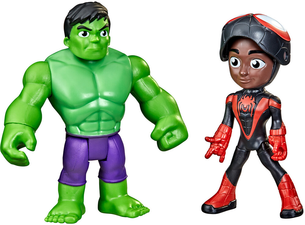 Saf Hero Reveal Spinn - Hasbro Collectibles - Spidey And His Amazing Friends Hero Reveal Spinn