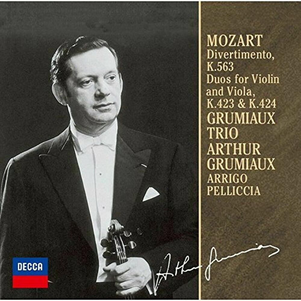 Mozart / Arthur Grumiaux - Mozart: Divertimento K.563 / Duets [Limited Edition] [Reissue]