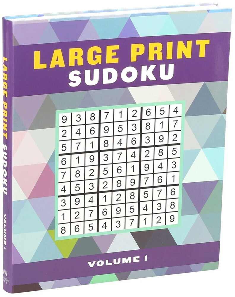 Editors of Thunder Bay Press - Large Print Sudoku, Volume 1