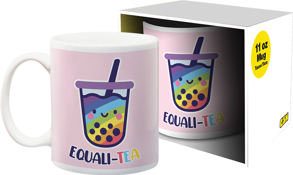 Pride Equali-Tea 11Oz Boxed Mug - Pride Equali-Tea 11oz Boxed Mug
