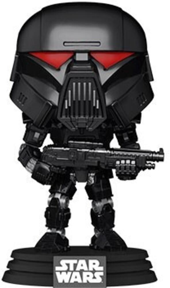 Funko Pop! Star Wars: - Mandalorian- Dark Trooper (Battle) (Vfig)