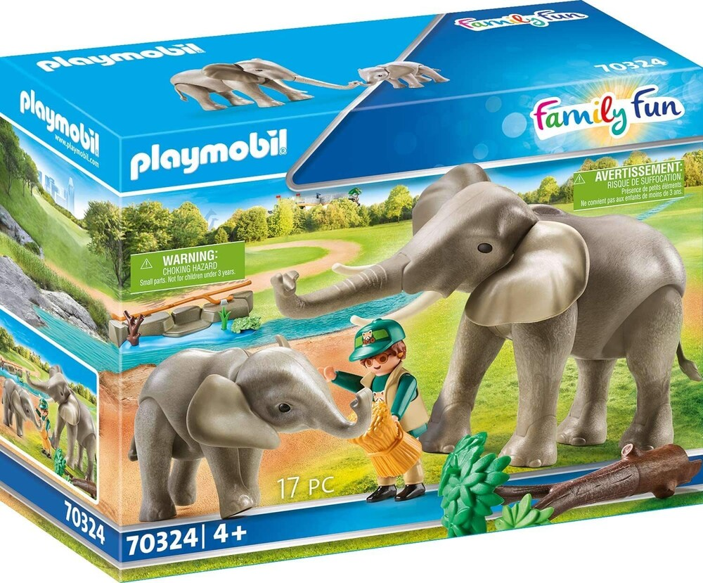 - Family Fun Elephant Habitat (Fig)