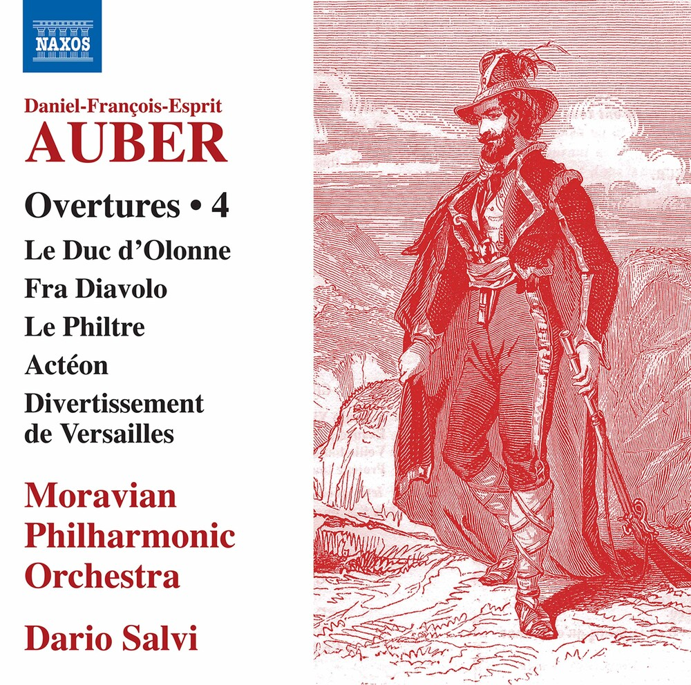 Auber / Moravian Philharmonic Orch - Overtures 4