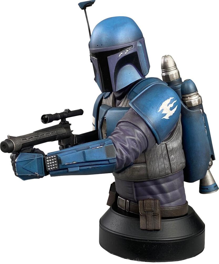 - Showcase Px Star Wars Mandalorian Deathwatch Bust