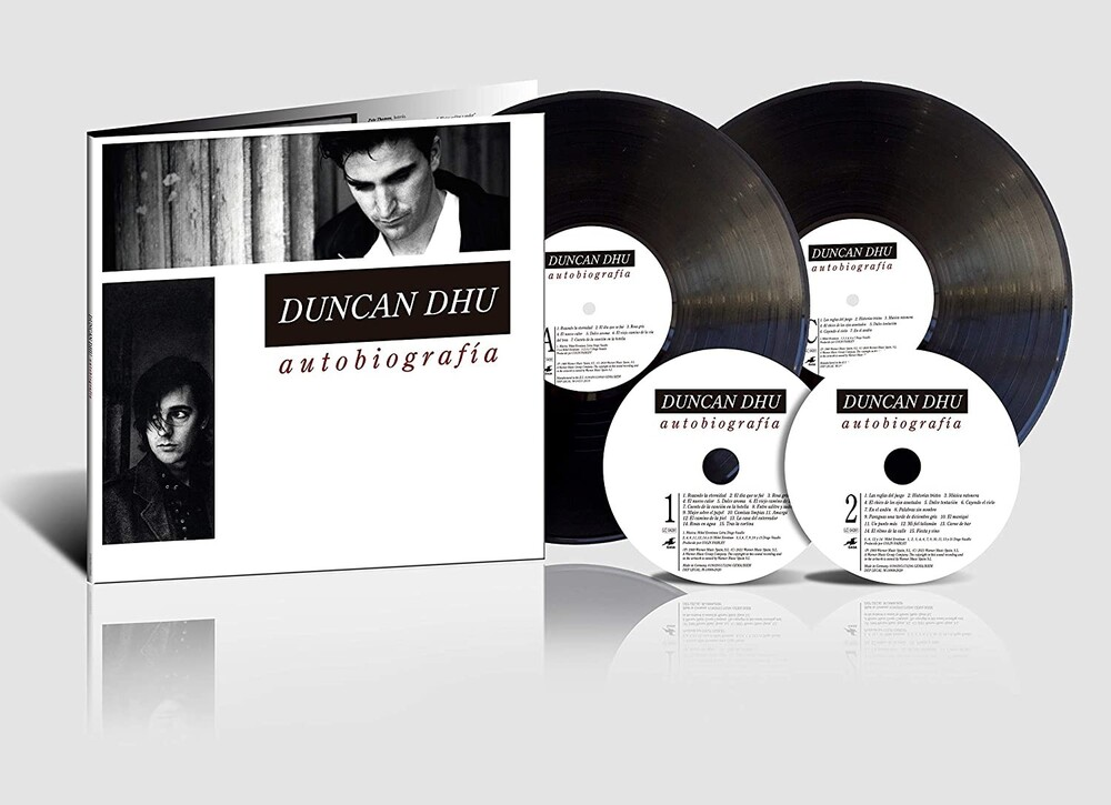 Duncan Dhu - Autobiografia (W/Cd) (Spec) (Spa)
