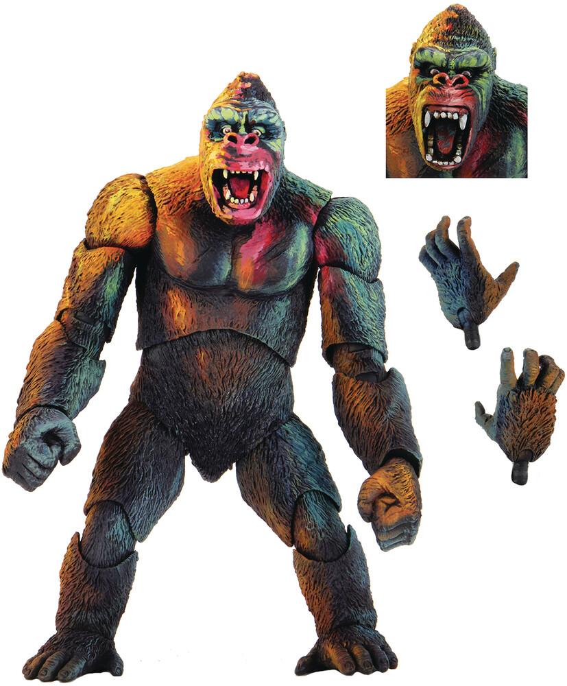 - King Kong Illustrated Ver Ultimate 7in Af (Afig)