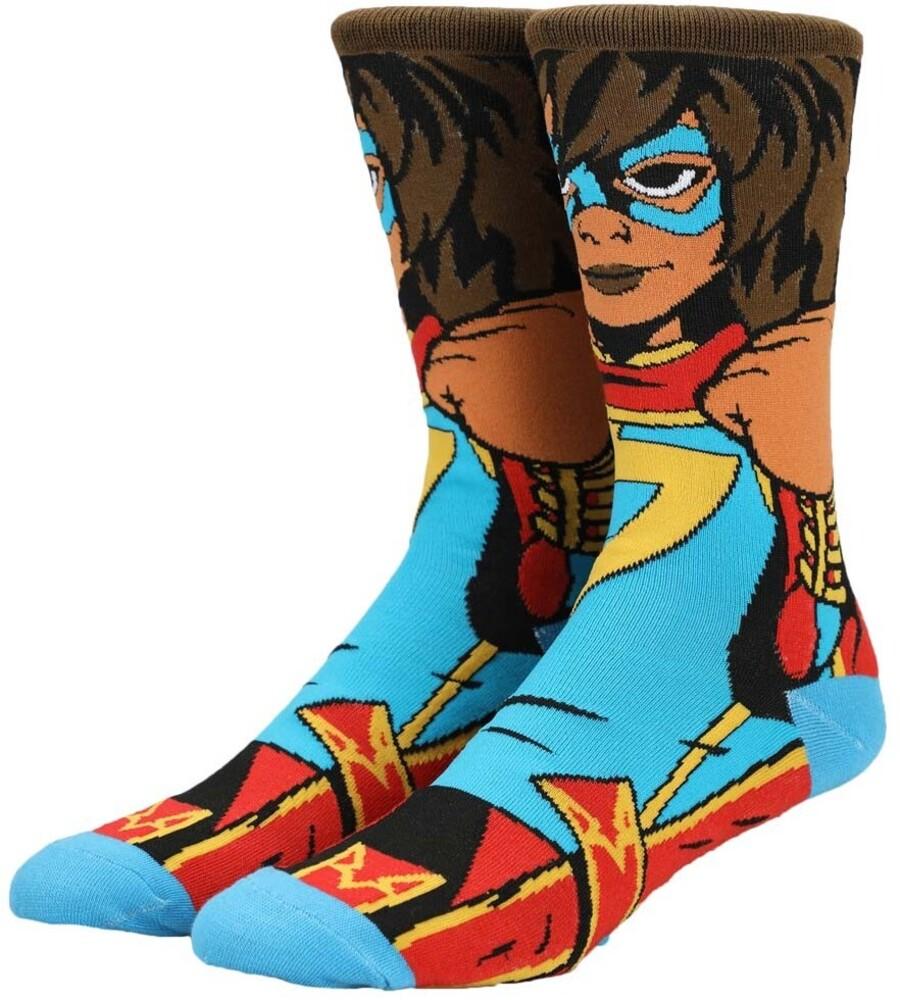 - Marvel Kamala Khan Crew Socks 8-12 (Mult) (Sock)