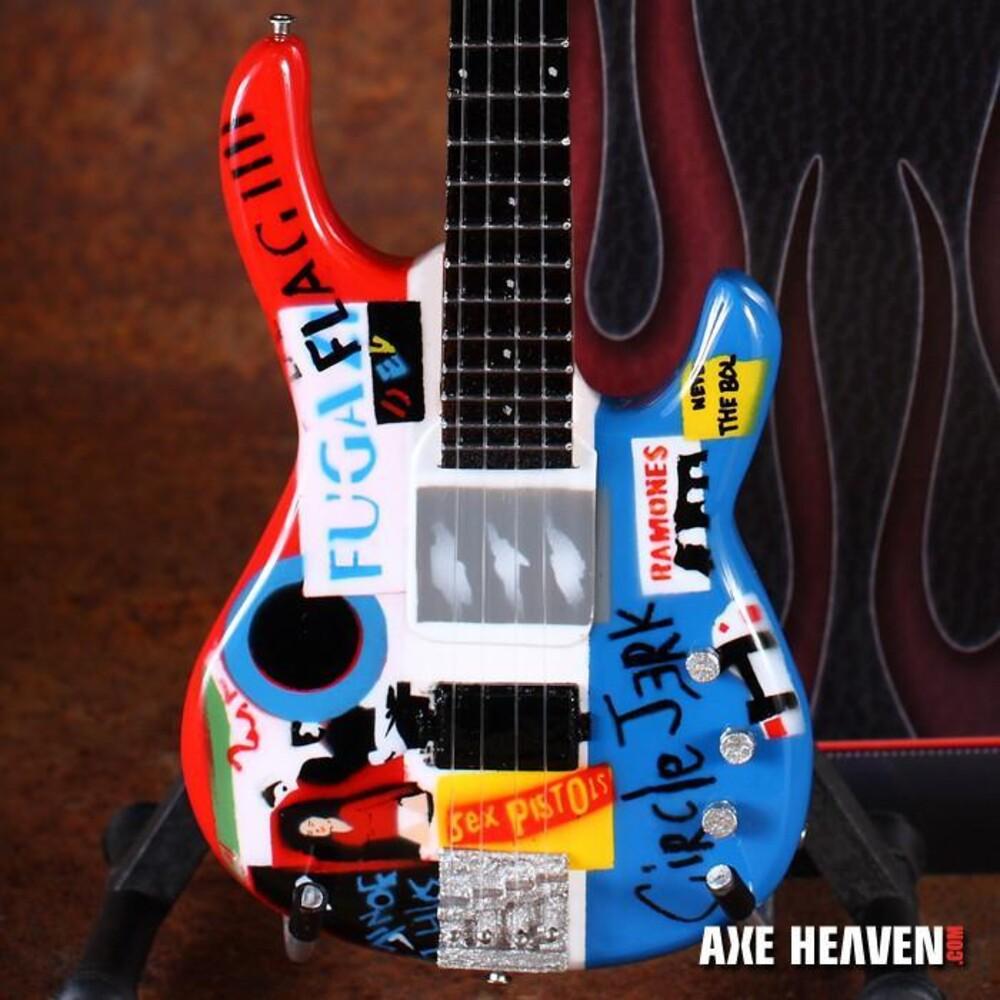 - Flea Red Hot Chili Peppers Mini Bass Guitar (Clcb)