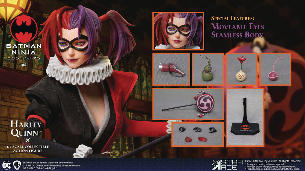 - Batman Ninja Harley Quinn 1/6 Coll Af (Net) (Afig)