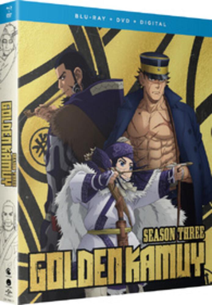 Golden Kamuy: Season 3 - Golden Kamuy: Season 3 (4pc) / (Box Digc Sub)