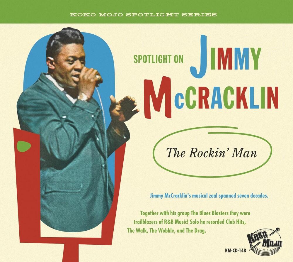 Jimmy Mccracklin - The Rockin' Man