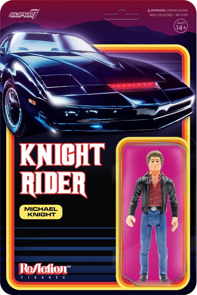 Knight Rider Reaction - Michael Knight - Knight Rider Reaction - Michael Knight (Afig)
