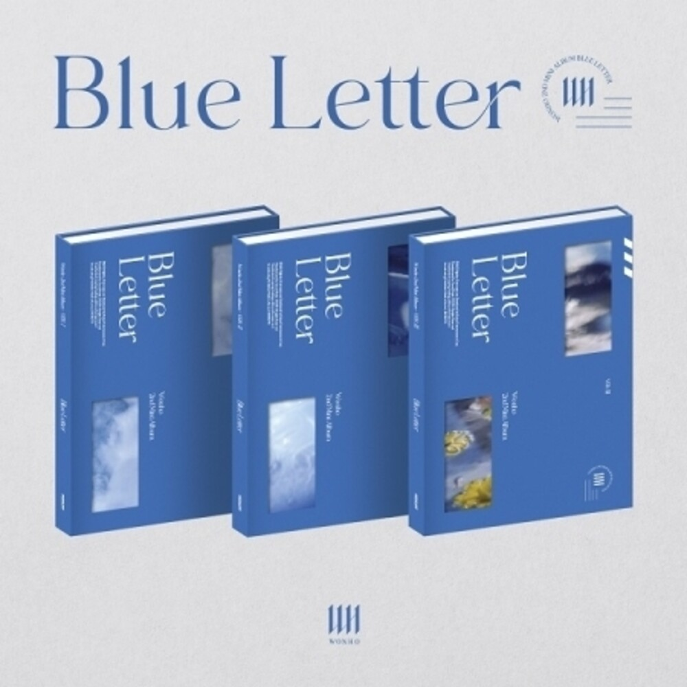 Wonho - Blue Letter (Random Cover) (incl. 96pg Photobook, Photocard, Accordion Postcard + Folded Poster)
