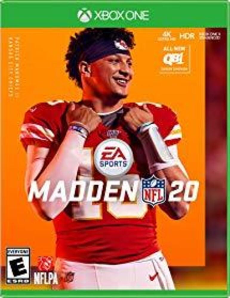 Xb1 Madden NFL 20 - Madden NFL 20 for Xbox One