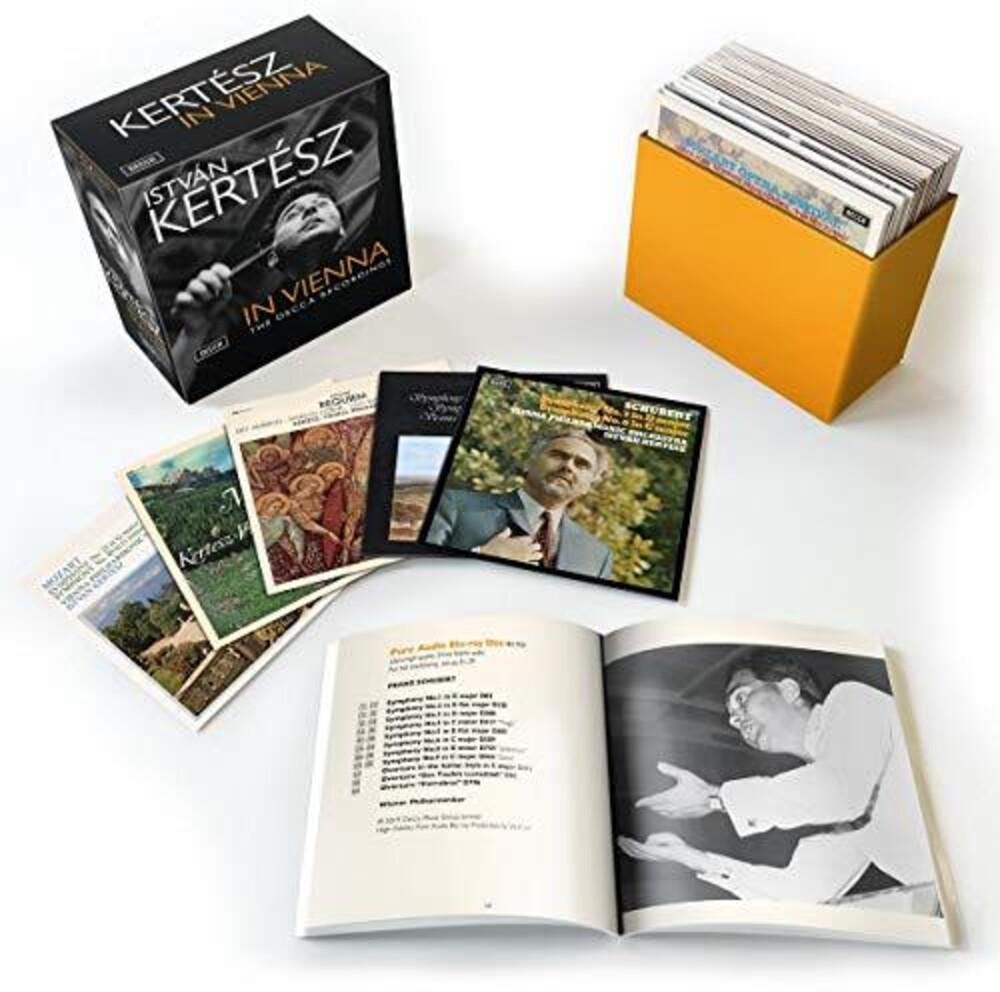 Istvan Kertesz - Vienna Recordings (Box) [Limited Edition] (Wbra)