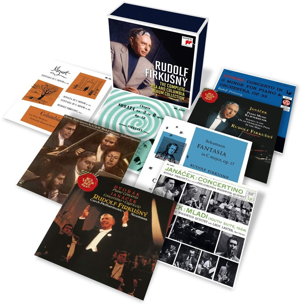 Rudolf Firkusny - Complete Rca & Columbia Album Collection (Box)