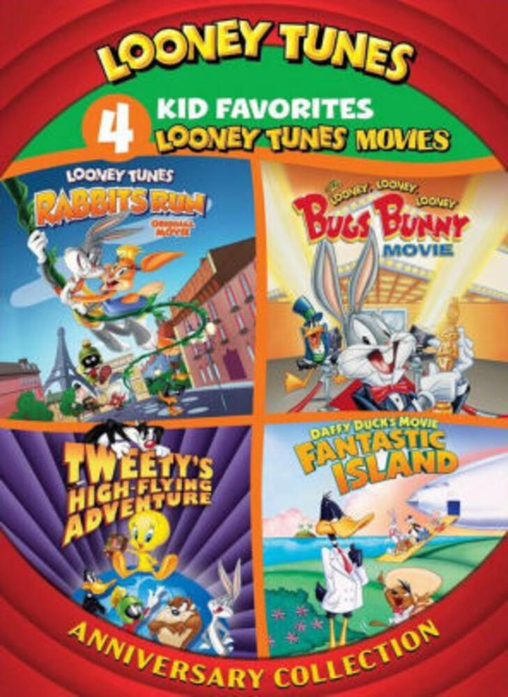 - 4 Kid Favorites: Looney Tunes Movies - Anniversary