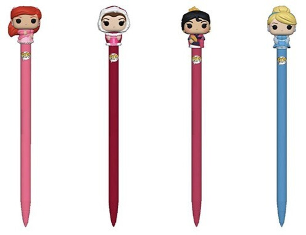Funko Pen Topper: - FUNKO PEN TOPPER: DISNEY Princess (ONE Random Pen Topper Per Purchase)