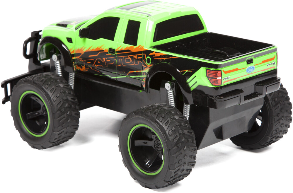 Friction Vehicles - 1:14 Ford F-150 SVT Raptor Friction Truck (One random color per transaction. Colors green, blue or red.)