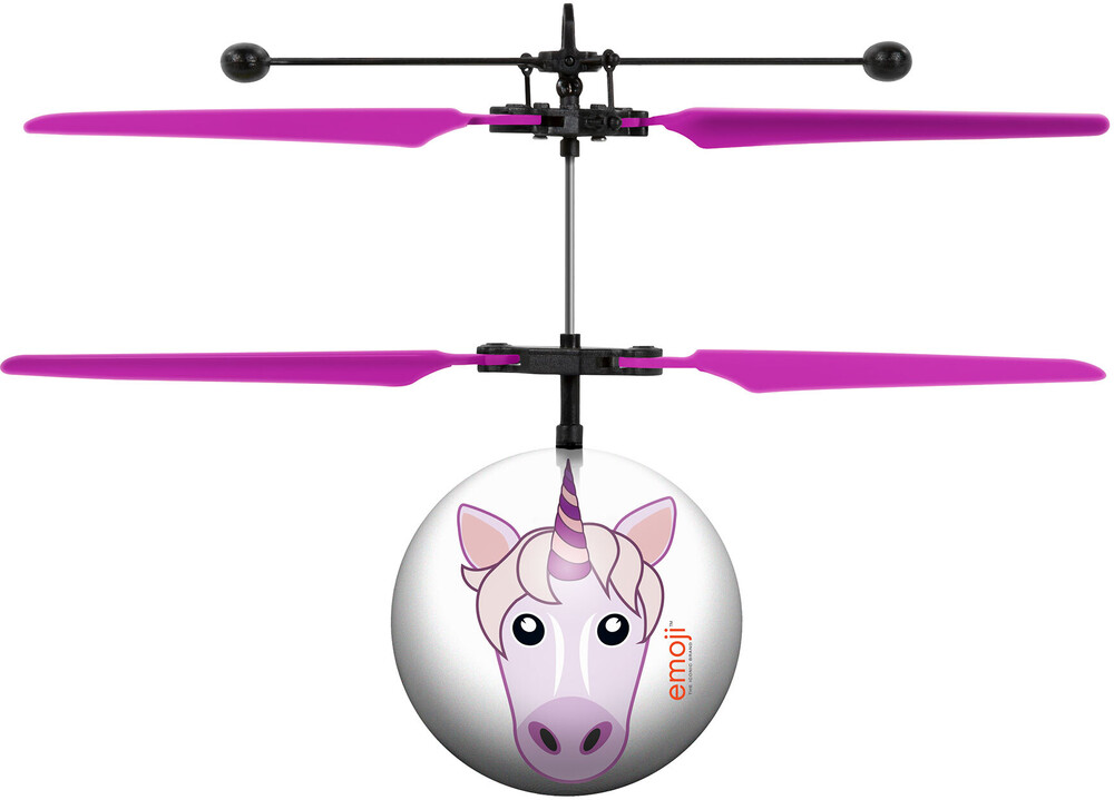 Ufo Ball Helicopter - Unicorn Emoji IR UFO Ball Helicopter