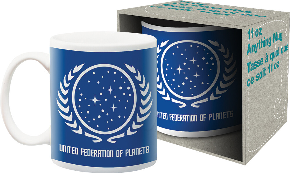Star Trek United Federation of Planets 11Oz Mug - Star Trek United Federation Of Planets Logo 11oz Mug Boxed