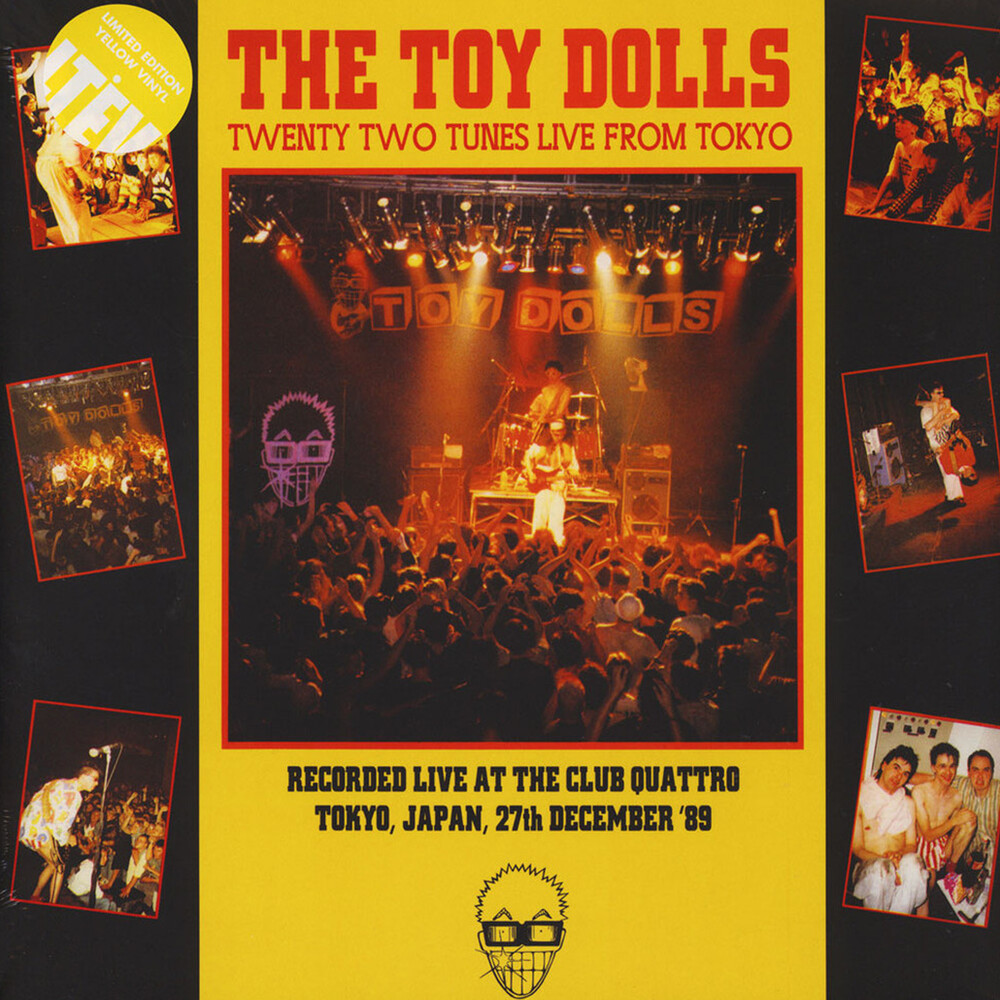 Toy Dolls - Twenty-Two Tunes Live From Tokyo (Ltd) (Ylw)