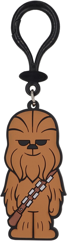Star Wars Chewbacca Pvc Soft Touch Bag Clip - Star Wars Chewbacca PVC Soft Touch Bag Clip