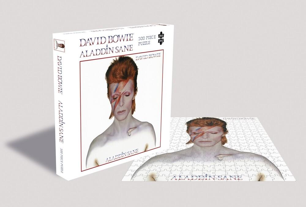 - Bowie,David Aladdin Sane (500 Piece Jigsaw Puzzle)