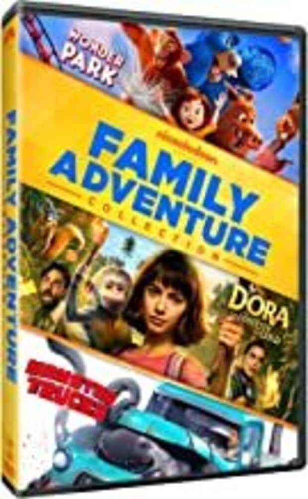 Family Adventures 3-Movie Collection - Family Adventures 3-Movie Collection (3pc) / (3pk)