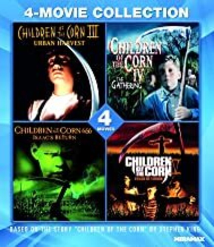 Children of the Corn 4-Movie Collection - Children Of The Corn 4-Movie Collection / (Amar)