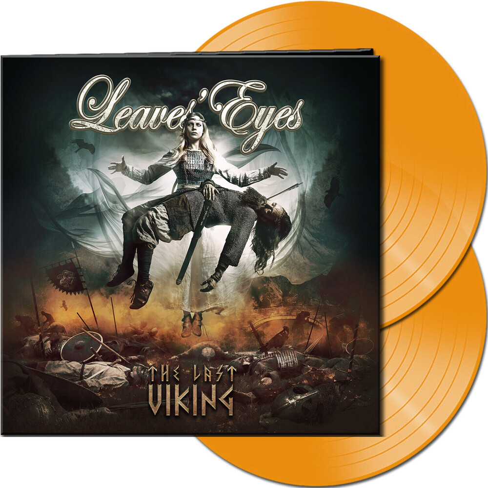 Leaves Eyes - Last Viking (Hazy Orange Vinyl) (Gate) [Limited Edition] (Org)