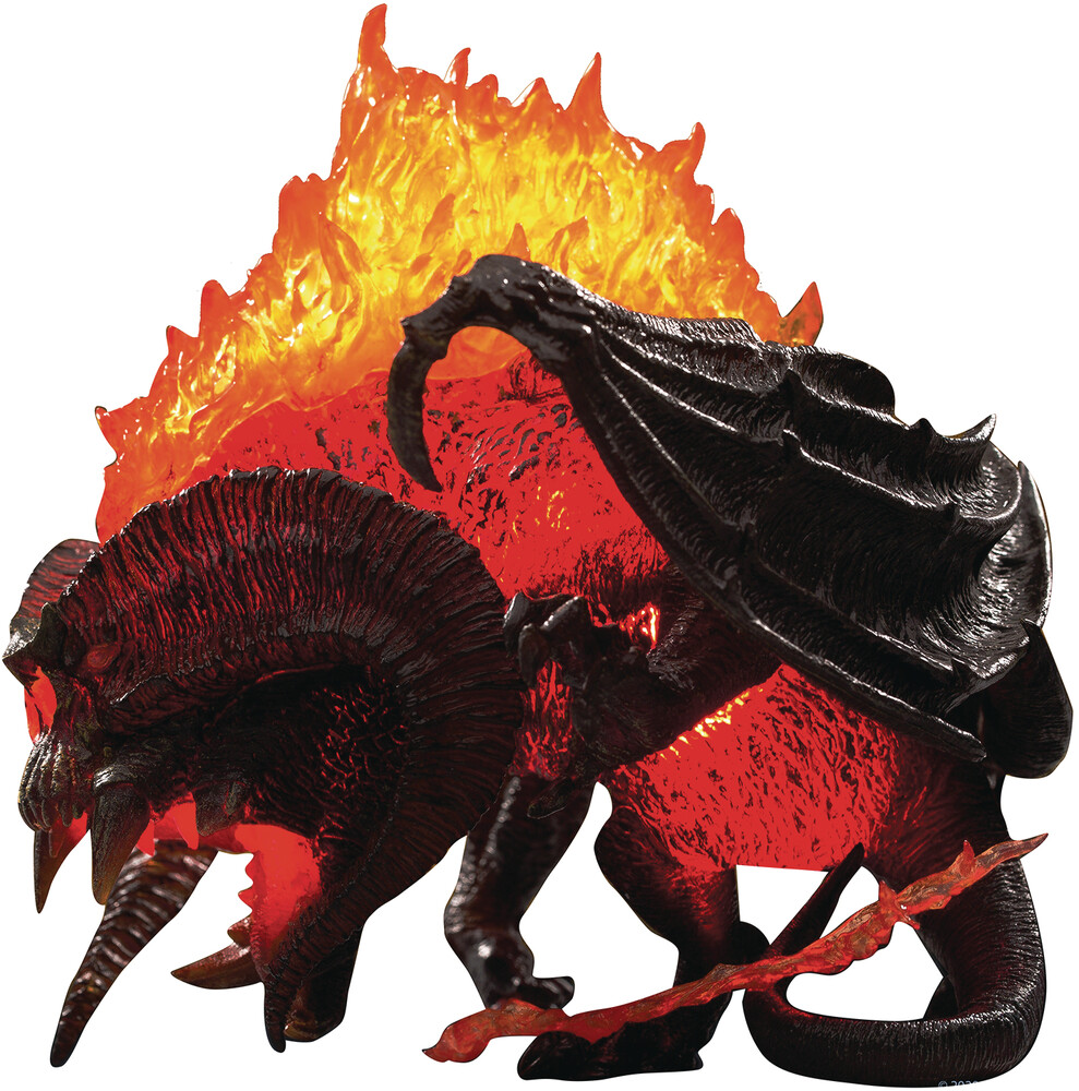 Star Ace Toys - Star Ace Toys - Lord Of The Rings - Balrog 2.0 Defo Real Soft VinylStatue Light Up Version (Net)